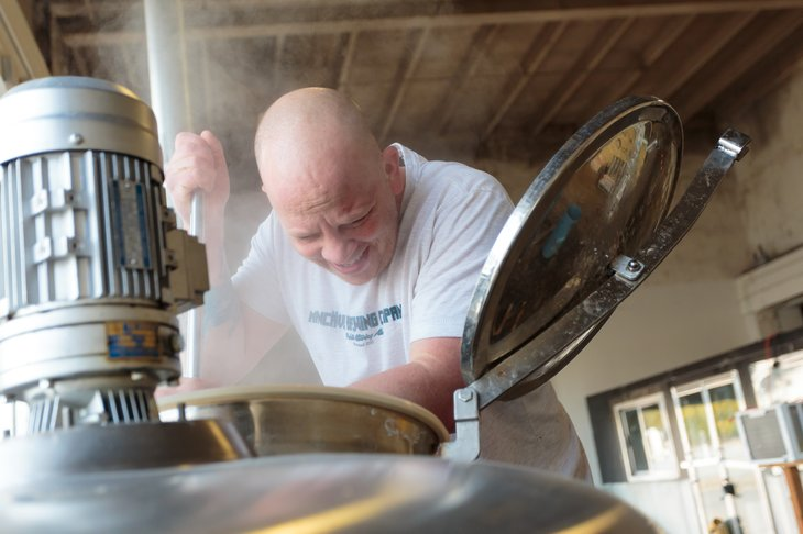 Brewer at work in Oregon