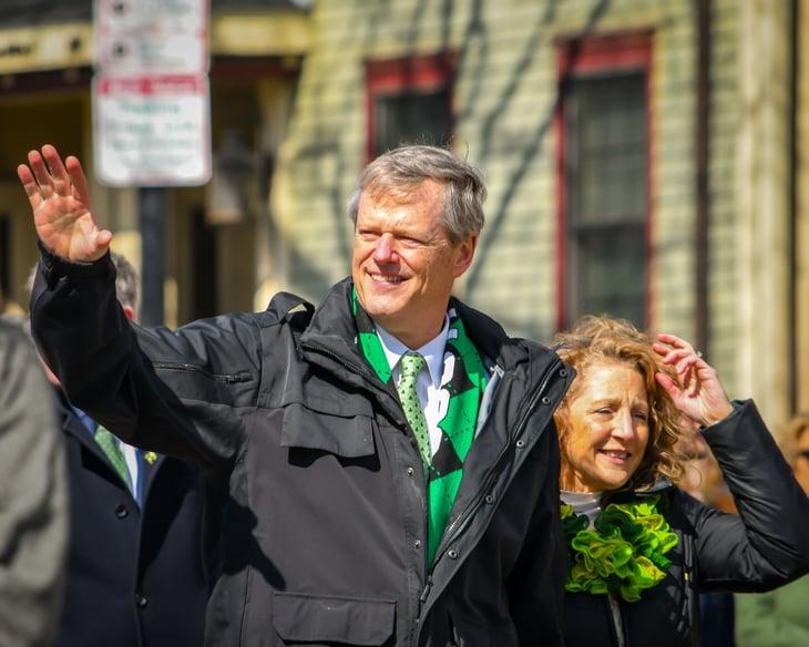 Charlie Baker, governor of Massachusetts