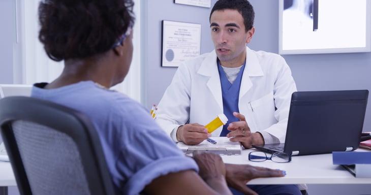 african american senior doctor medicine