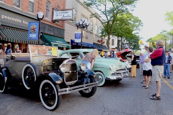 Ann Arbor, Michigan car show