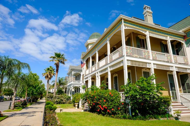 Galveston Texas historical homes