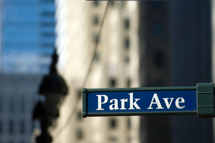Park Ave, New York City