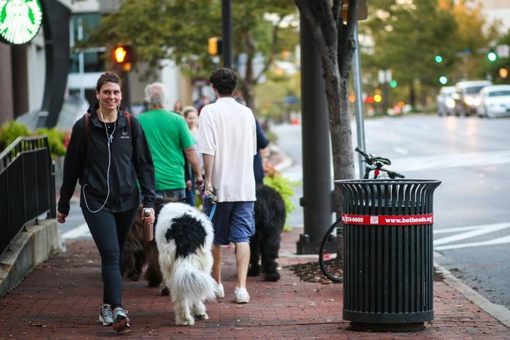 Bethesda, Maryland street scene
