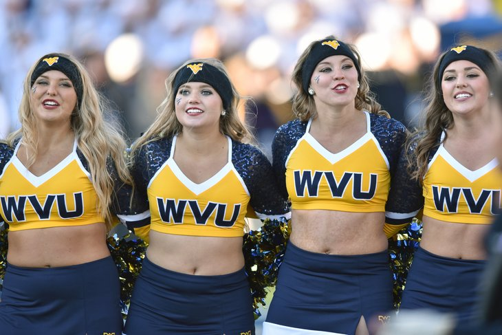West Virginia University dance line