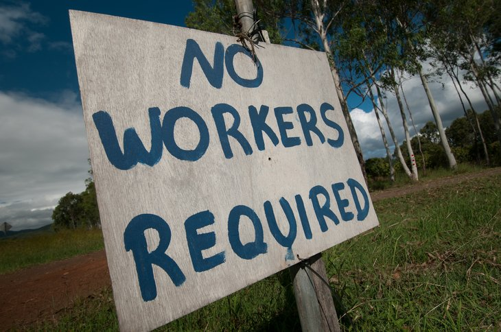 No workers required