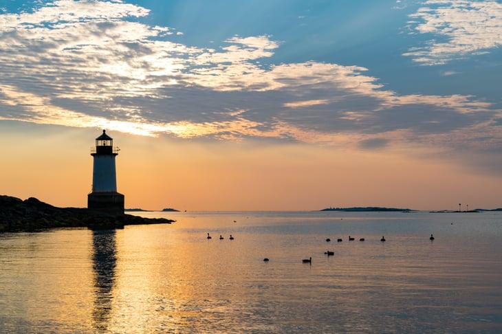 Lighthouse in Massachusetts