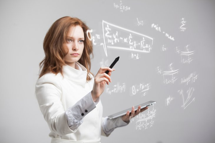 woman mathematics