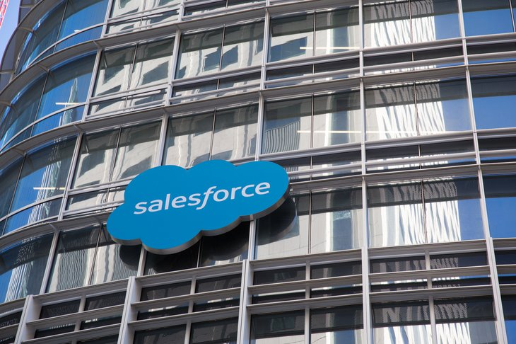 Signo de Salesforce