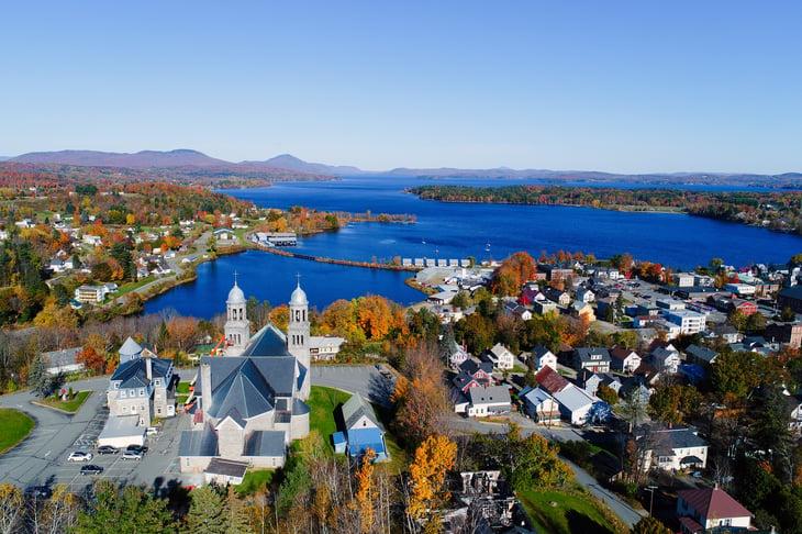Lake Memphremagog - Newport, Vermont
