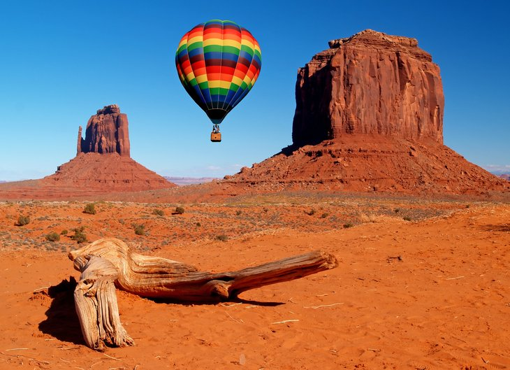 Utah hot air balloon