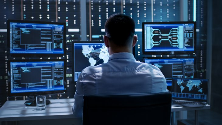 Cybersecurity worker