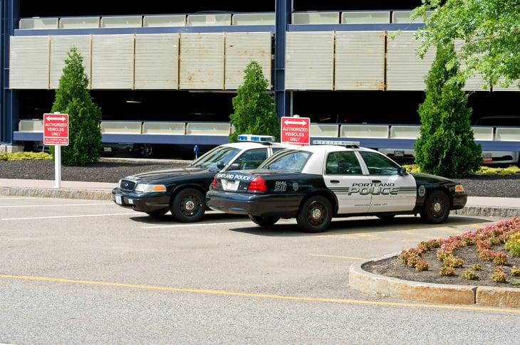 Portland, Maine, police cars