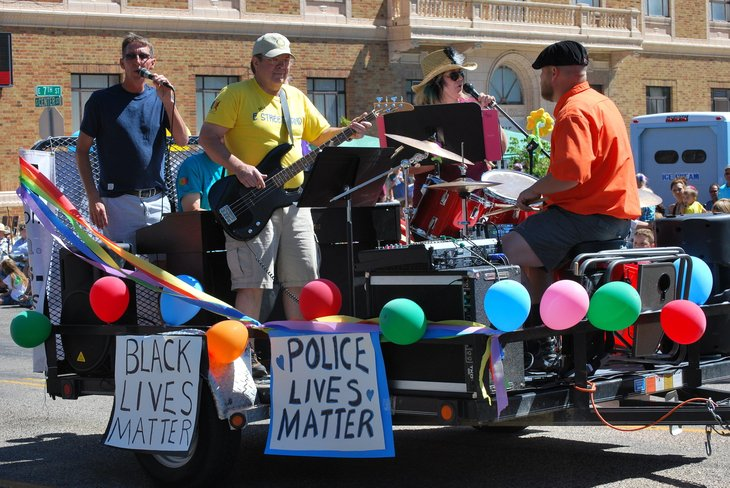 parade in Casper, Wyoming
