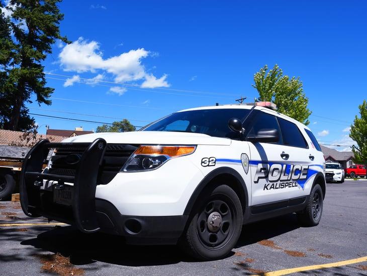 Kalispell, Montana, police car