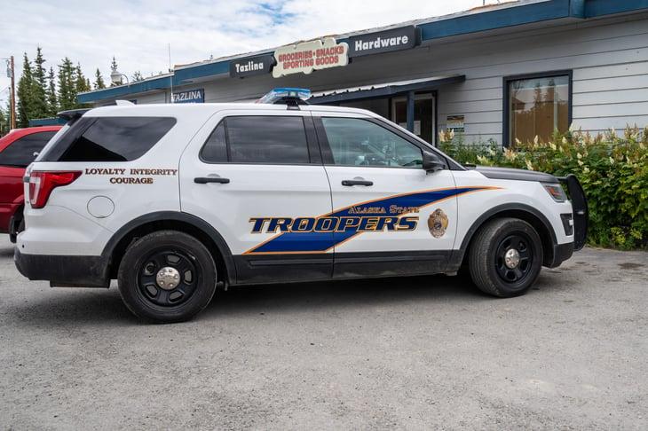 Alaska state trooper patrol car