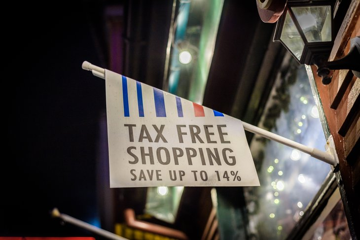 Tax-free shopping