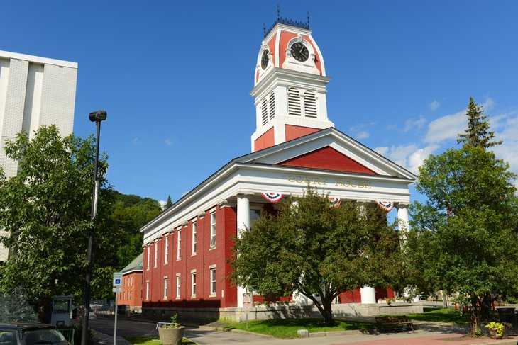Washington County courthouse in Montpelier, Vermont