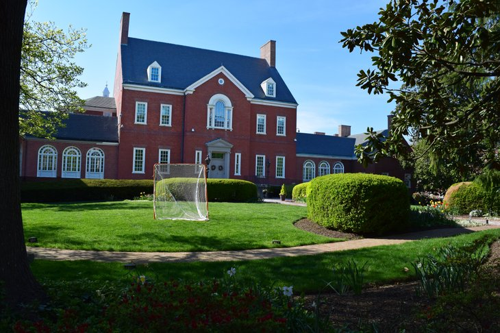 The Maryland governor's mansion