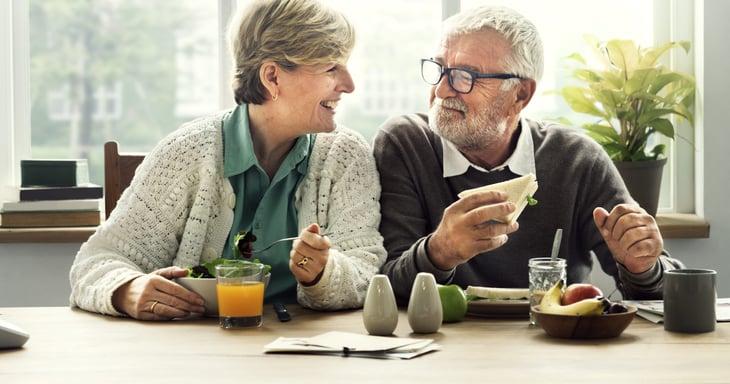 Seniors planning for retirement