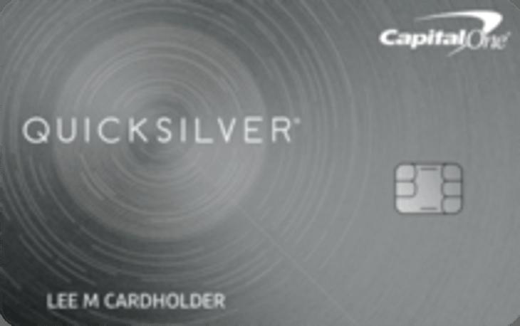Capital One Quicksilver Cash Rewards