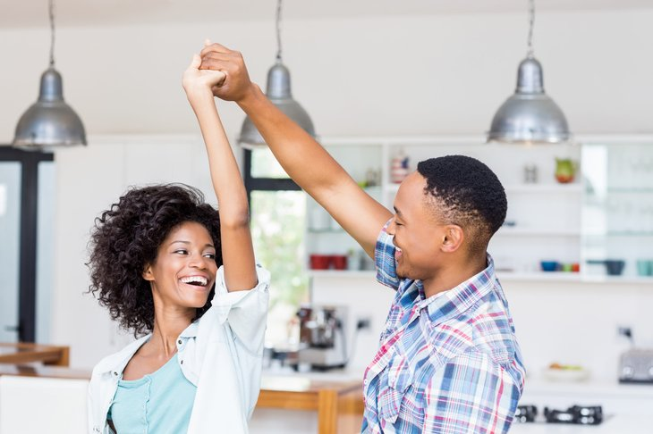 Satisfied homeowners insurance customers
