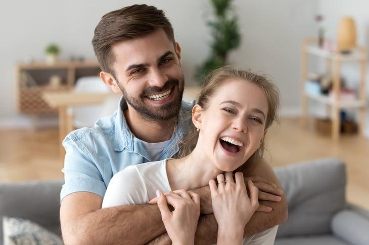 Happy renters