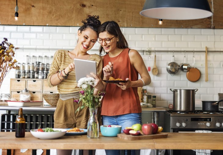 Women meal planning