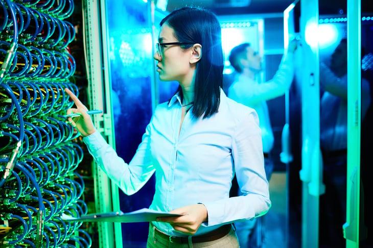 Female computer scientist