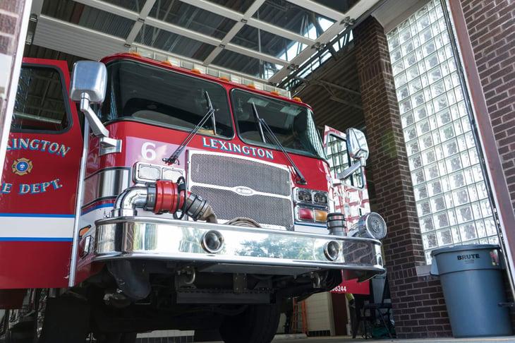 Lexington, Kentucky, firetruck
