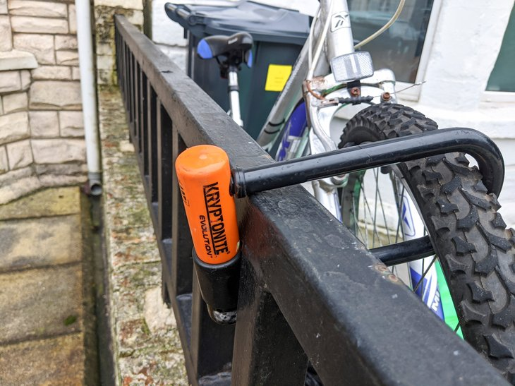 Kryptonite bike lock
