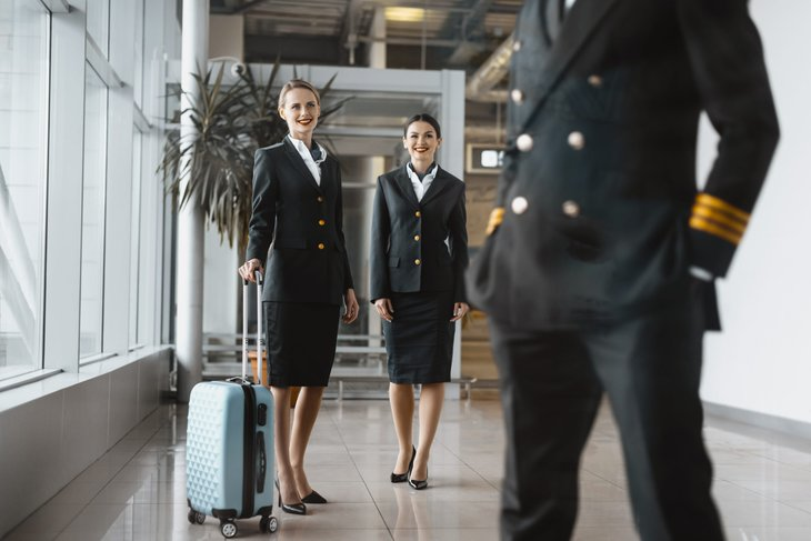 flight attendants affected by the coronavirus crisis