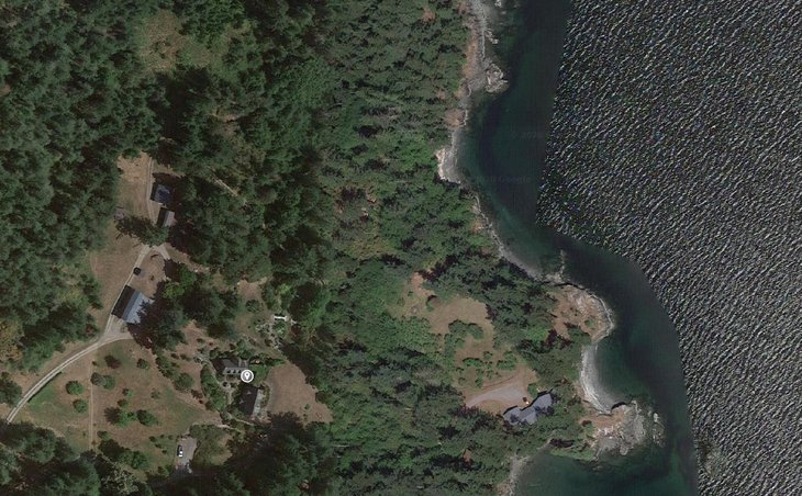 Orcas Island WA home