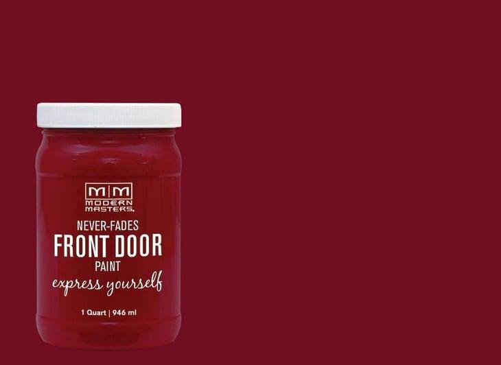 Modern Masters front door paint on Amazon