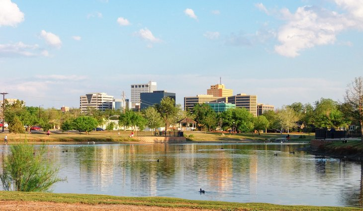 Midland, Texas skyline