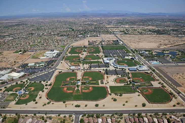 Surprise, Arizona from above