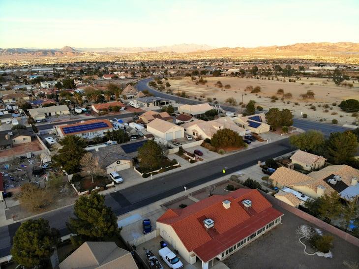 Henderson, Nevada aerial photo
