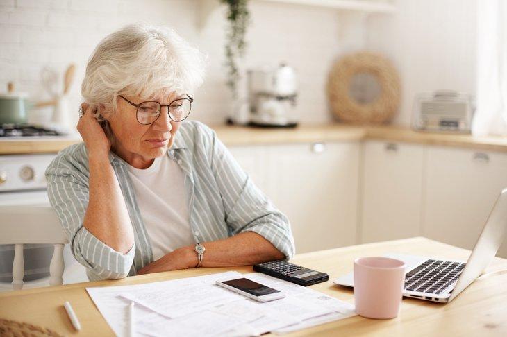 Retiree trying to lower her inflation risk