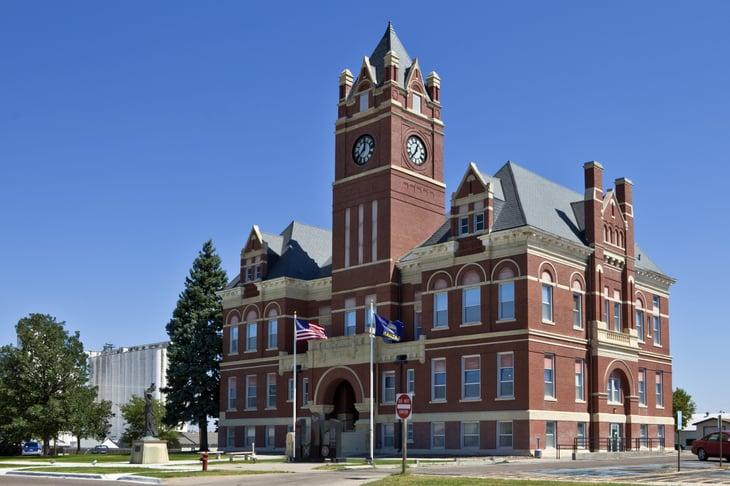 Thomas County courthouse in Kansas