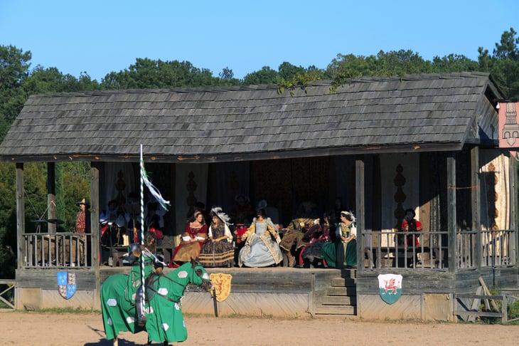 A Renaissance festival in Mission, Texas