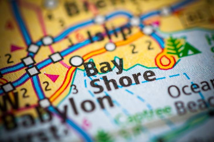 Bay Shore area, New York