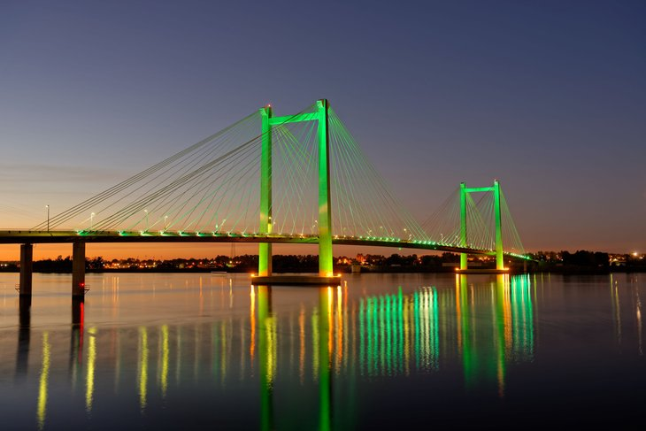 Tri-Cities Cable Bridge, Washington