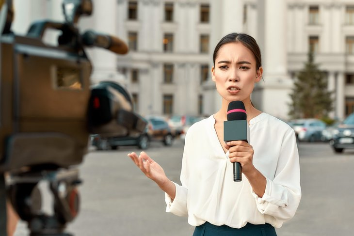 Young reporter