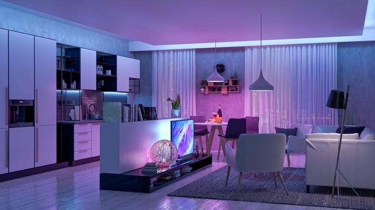 Smart home LED lights