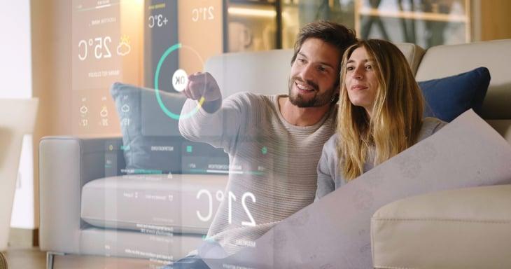 Smart home device controls