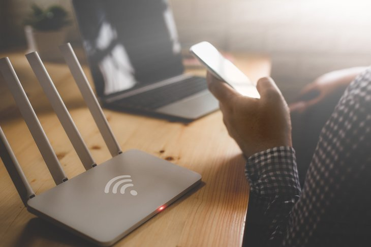 setting up home Wi-Fi wireless network and router