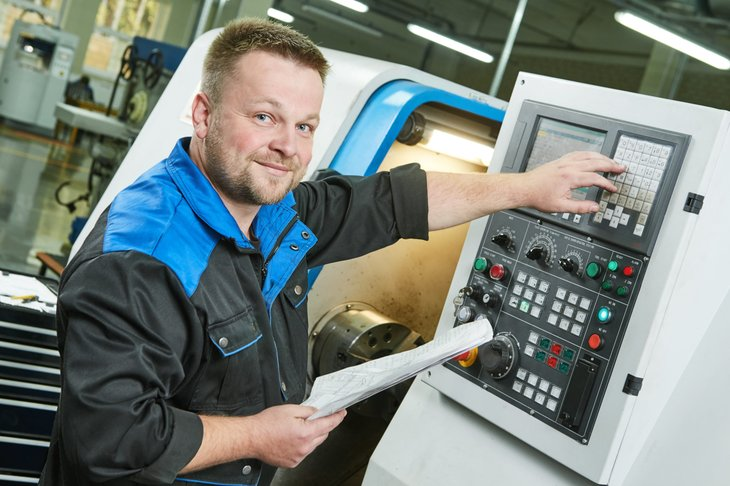 Metal machine worker