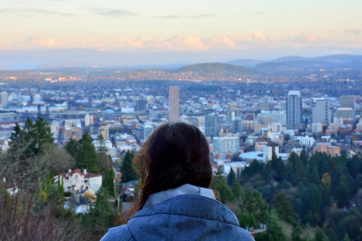 Hiking in Portland, Oregon