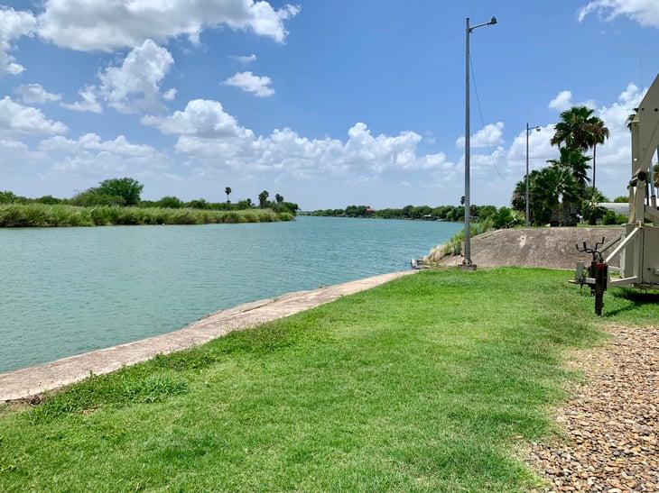 Rio Grande river, McAllen, Texas