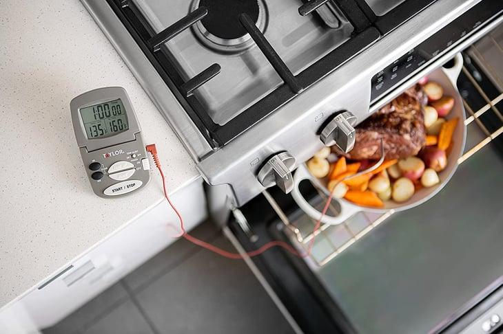 Digital cooking probe