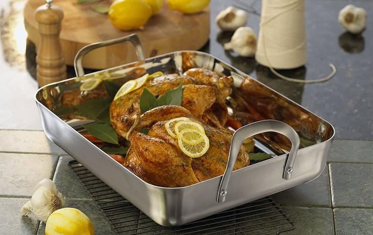 Calphalon roasting pan with rack